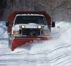 GPS snow plow