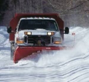snow removal vehicle