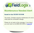 Vehicle Maintenance Reminders
