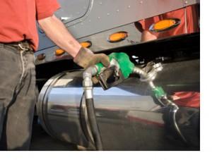 truck fleet fuel management pumping gas