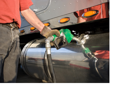 truck fleet fuel tax pumping gas