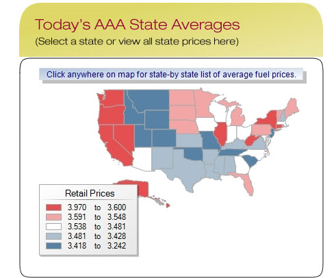 Aaa Fuel Data Says Gas Prices Have Increased 43 Cents Since Last Month