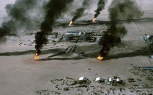 oil burning libya