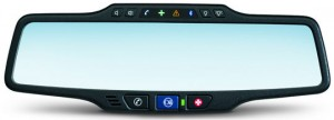 GM Onstar rear-view mirror