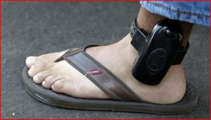 gps tracking device ankle