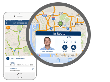 food delivery software mobile view