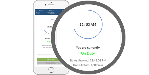 free mobile time clock
