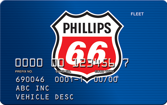 phillips 66 fuel card gps telematics integration
